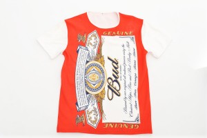 custom made budweiser t-shirt